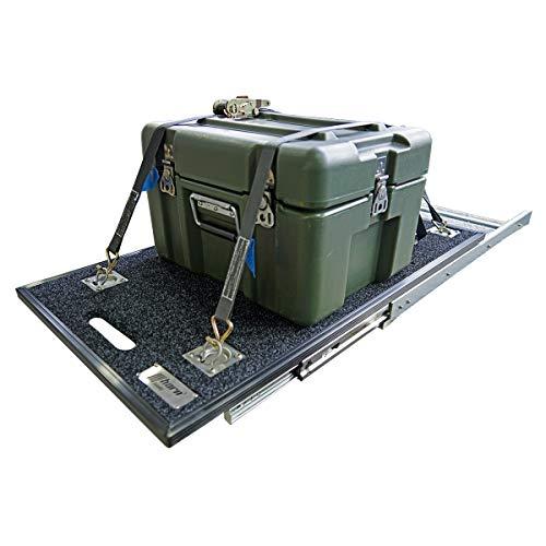 horntools Universal Auszug Hundebox oder Kühlschrank 990mm x 540mm Pickup Cargo Slide Kühlbox Box Ladeboden