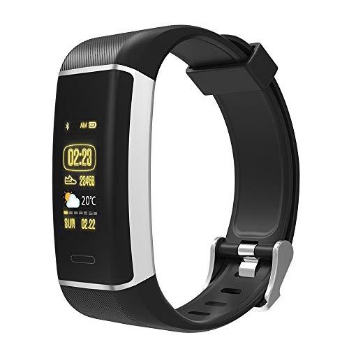 Denver BFG-550 Fitness-Tracker für das Handgelenk, Schwarz, 44 x 13.4 x 250
