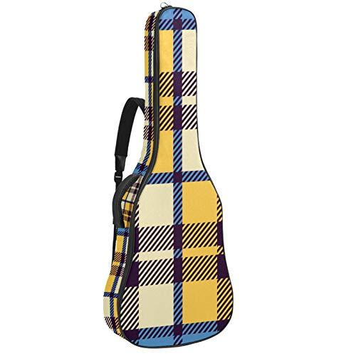 Funda acolchada para guitarra eléctrica, acolchada, con doble correa ajustable para el...