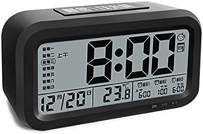 Despertador Digital con Alarma, Arespark Reloj Despertador ...