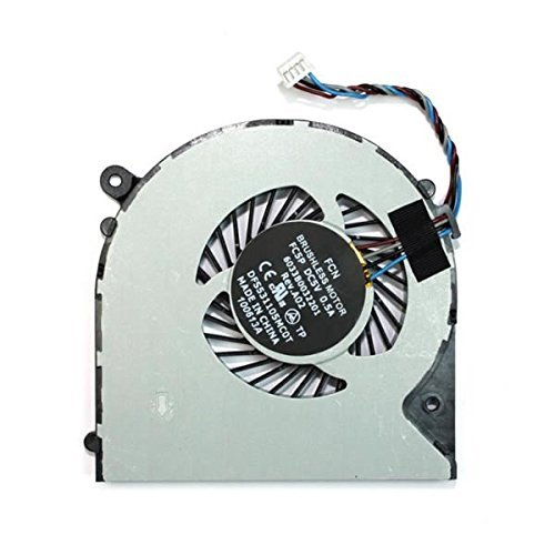 Gotor® - Ventilador de repuesto para Toshiba Satellite L950S950S955S955D V000300010- KSB0705HA-CF18