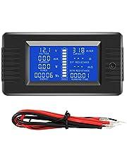 KKmoon LCD Display Digital Power Voltage Solar Power meter multimeter ampèremeter voltmeter batterijmonitor meter meter