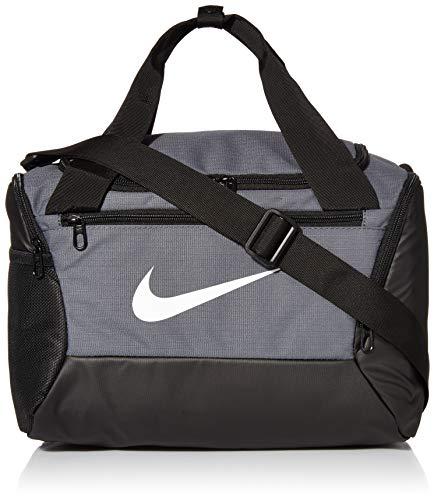 Nike NK BRSLA XS DUFF - 9.0 Gym Bag, Flint Grey/Black/White, 40 cm