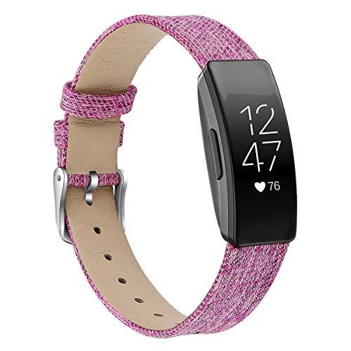 Chainfo Correas Reloj Lona Compatible con Fitbit Inspire HR/Inspire   para Hombre y Mujer (Pattern 1)