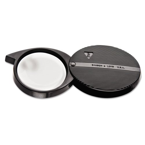 Bausch & Lomb 4X Folded Pocket Magnifier, 36mm Diameter Lens (812354)