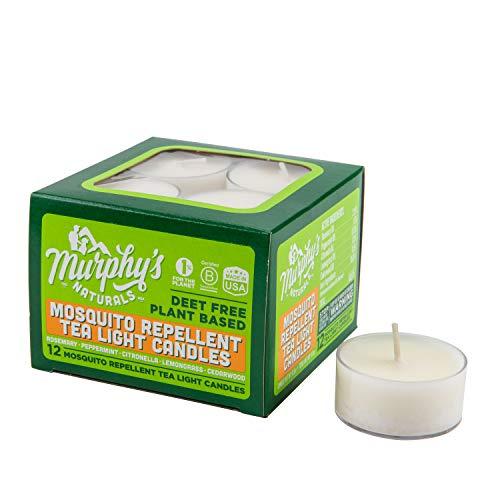 Murphy de Naturals repelente de mosquitos té luz velas–12unidades
