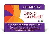 REG'ACTIV Detox & Liver Health, 60 Capsules, with Glutathione-producing Lactobacillus fermentum ME-3
