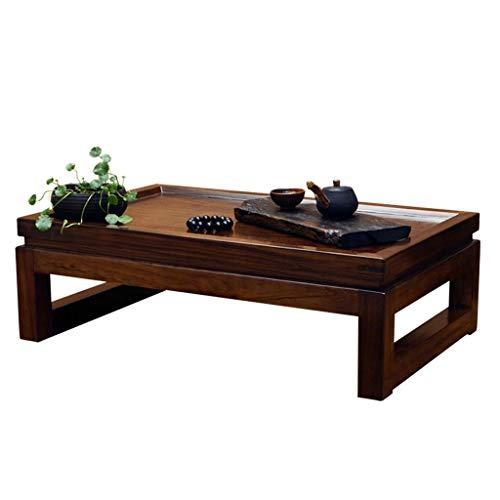 Tables Meubles Bureau Basse en Bois Salon à thé Bureau Petit Bureau Belle Petite Basse de Style Japonais Santé Mode (Color : Brown, Size : 50cm*40cm*25cm)