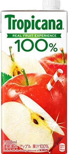 トロピカーナ 100% アップル 1000ml×6本 紙パック