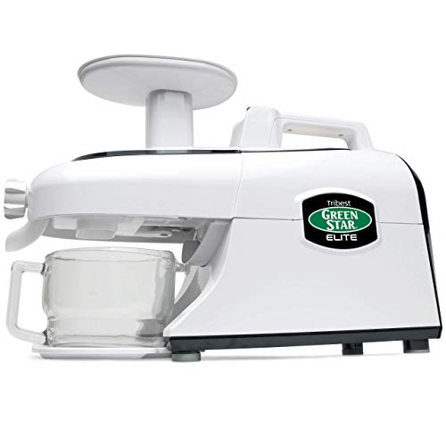 Tribest GSE-5000 Greenstar Elite, Cold Press Complete Masticating Slow Juicer with Jumbo Twin Gears