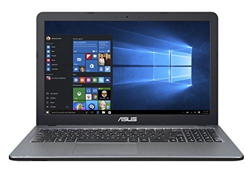 "ASUS F540YA-XX078T - Ordenador portátil de 15.6"" (AMD Dual-Core E1-7010, 4 GB de RAM, HDD de 500 GB, AMD Radeon R2 Graphics, Windows 10), plata degradado - Teclado QWERTY Español"