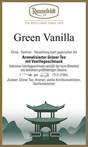 Ronnefeldt - Green Vanilla - Aromatisierter Grüner Tee - 100g