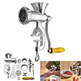 Best Meat Grinders - Manual Meat Grinder, Manual Meat Mincers Stainless Steel Review