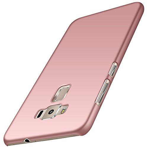 anccer Funda Zenfone 3 ZE552KL [Serie Colorida] [Ultra-Delgado] [Ligera] Anti-rasguños Estuche para Carcasa Zenfone 3 ZE552KL (Oro Rosa Liso)