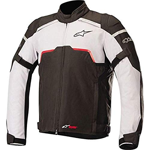 Alpinestars 1693750205 Motorrad Jacke, Schwarz/Grau, XXL