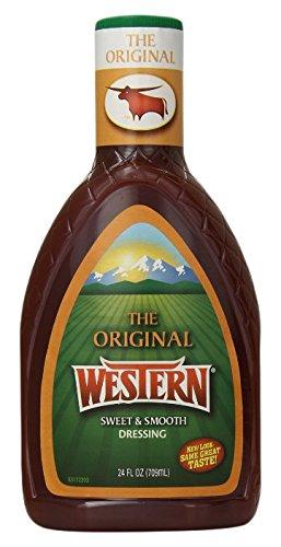 Wish-Bone Western Salad Dressing, Original, 24 Ounce
