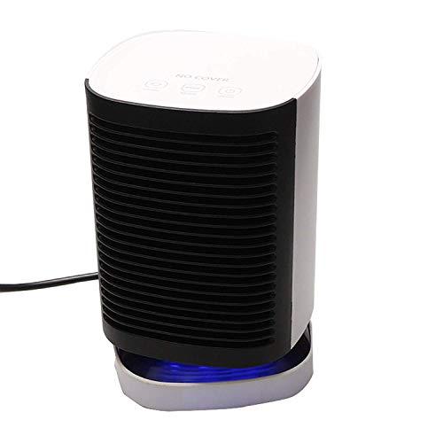 AJH Calentador de Ventilador portátil Calentador de Espacio Personal silencioso eléctrico 950 W 450 W Mini Calentador de Mesa Calentador de cerámica PTC Calentador de soplado girat