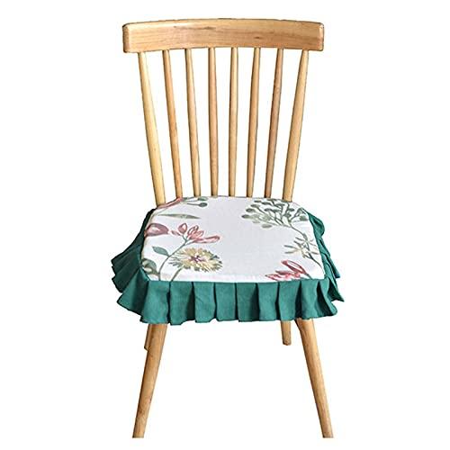 Fundas de Sillas de Comedor Cubiertas de asientos de silla para comedor, lavable removible Silla tapizada con asiento de asiento de asiento para cocinar para cocina, oficina, 1PACK Protectoras para Si