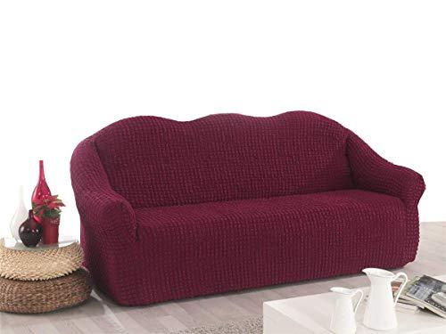 My Palace 3 Sitzer Sofabezug Sofahusse Sofaüberwurf 3 er Couchbezug Sofaschoner 3erCouchschoner. 3-Sitzer Schutzbezug.