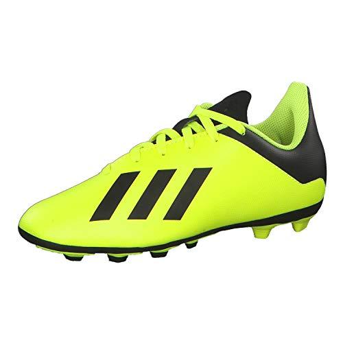 adidas X 18.4 FxG, Scarpe da Calcio Uomo, Giallo (Syello/Cblack/Syello Syello/Cblack/Syello), 38 EU