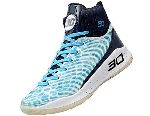 SINOES Zapatillas Baloncesto Calzado Deportivo Color de Mezcla Zapatillas de Correr Running Jogger Bambas de Hombre