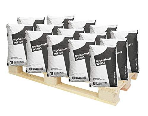 DYCKERHOFF Weiss Face - Weisszement CEM I 42,5 R (dw) 625 kg - chromatarmer Zement - Widerstandsfähigkeit gegenüber Umwelteinflüssen
