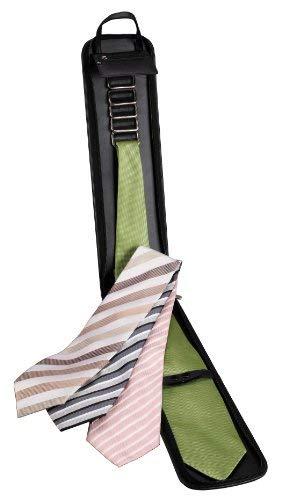 44019 Krawattentasche Krawattenetui für fünf Krawatten. Mit Reißverschlusstasche für Krawattennadel (Liefermenge=2)