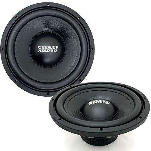 Sundown Audio LCS v2 D4 10  300W RMS Dual 4Ohm Subwoofers (Pair)