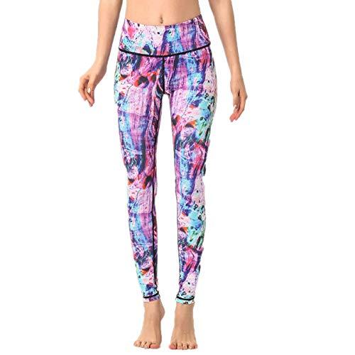 Collants et Leggings de Remise en Forme de Sport pour Dames de Taille Haute, Pantalon Extensible de Yoga Pro pour Femmes Collants de Course d