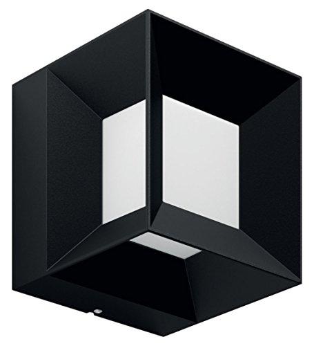 Philips 1648030P0 PARTERRE Applique Aluminium/Matières Synthétiques Noir 13 x 13 x 13 cm