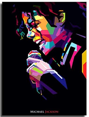 GuiYun 1000 pièces Jigsaw Puzzle Michael Jackson Affiche Adultes Enfants Jouet Jeu Éducatif Matériel: Carton