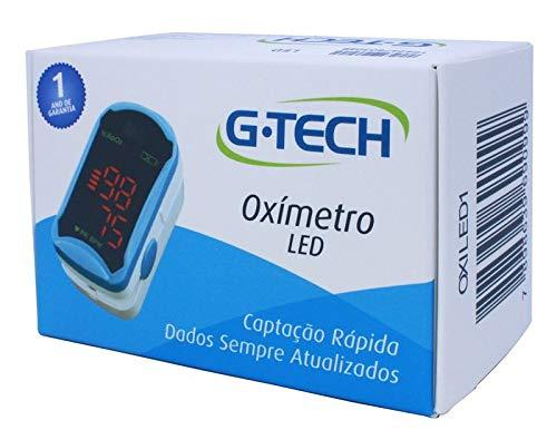 Oxímetro De Dedo Portátil G-tech Modelo Led Digital