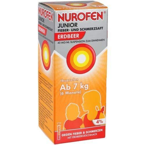 NUROFEN Junior Fieber-u.Schmerzsaft Erdbe.40mg/ml 100 ml