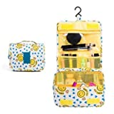 Bolso de Cosméticos Alta capacidad de maquillaje bolsa de viaje bolsa de cosméticos a prueba de agua de tocador bolsa de almacenamiento de cosméticos de almacenamiento Kit de viaje Bolso de las señora