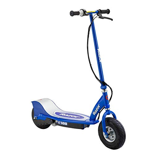 Razor E300 Electric Scooter with Retractable Kickstand and Chain-driven Motor