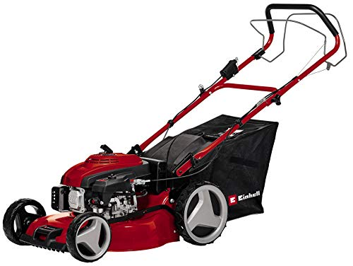 Einhell 3404365 GC-PM 46/2 S HW-E Self Propelled Petrol Mower with Cutting Width and High Wheels and...