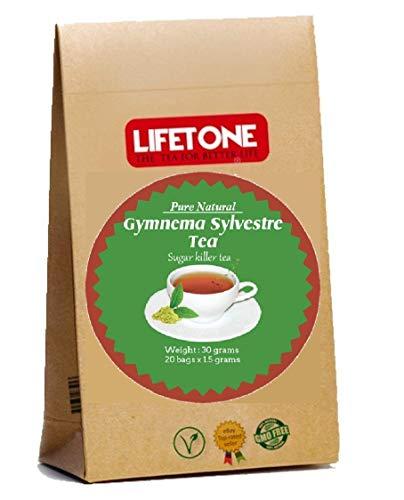 Té supresor del apetito para bajar de peso | Té Detox | Té Gymnema Sylvestre | 20 bolsitas de té