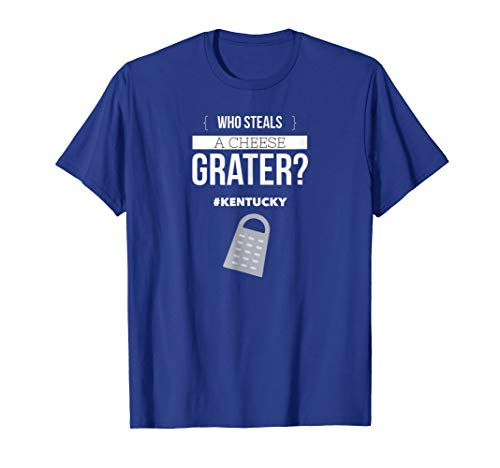 Who steals a cheese grater T-shirt