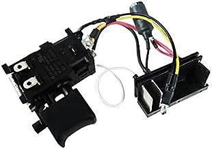 SDUIXCV Disparador de Interruptor Original Original Genuino para HITACHI WH14DJL DV14DJL DS14DJL 14V Destornillador de Taladro eléctrico