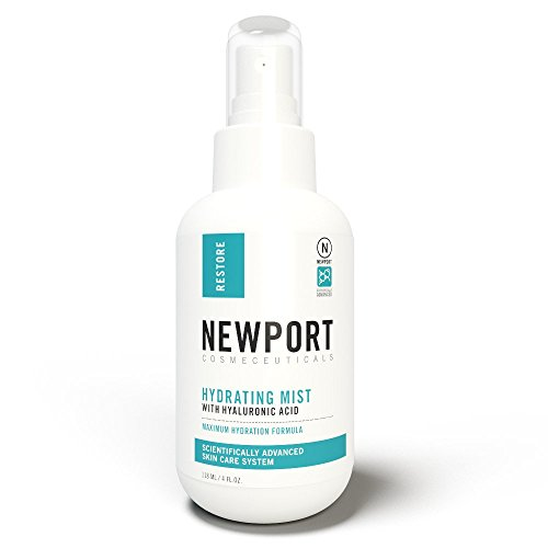 Face Toner Makeup Setting Spray with Aloe Vera, Vitamin C, Hyaluronic Acid - Pore Minimizer Hydrating Facial Mist BY NCI 4 Fl oz