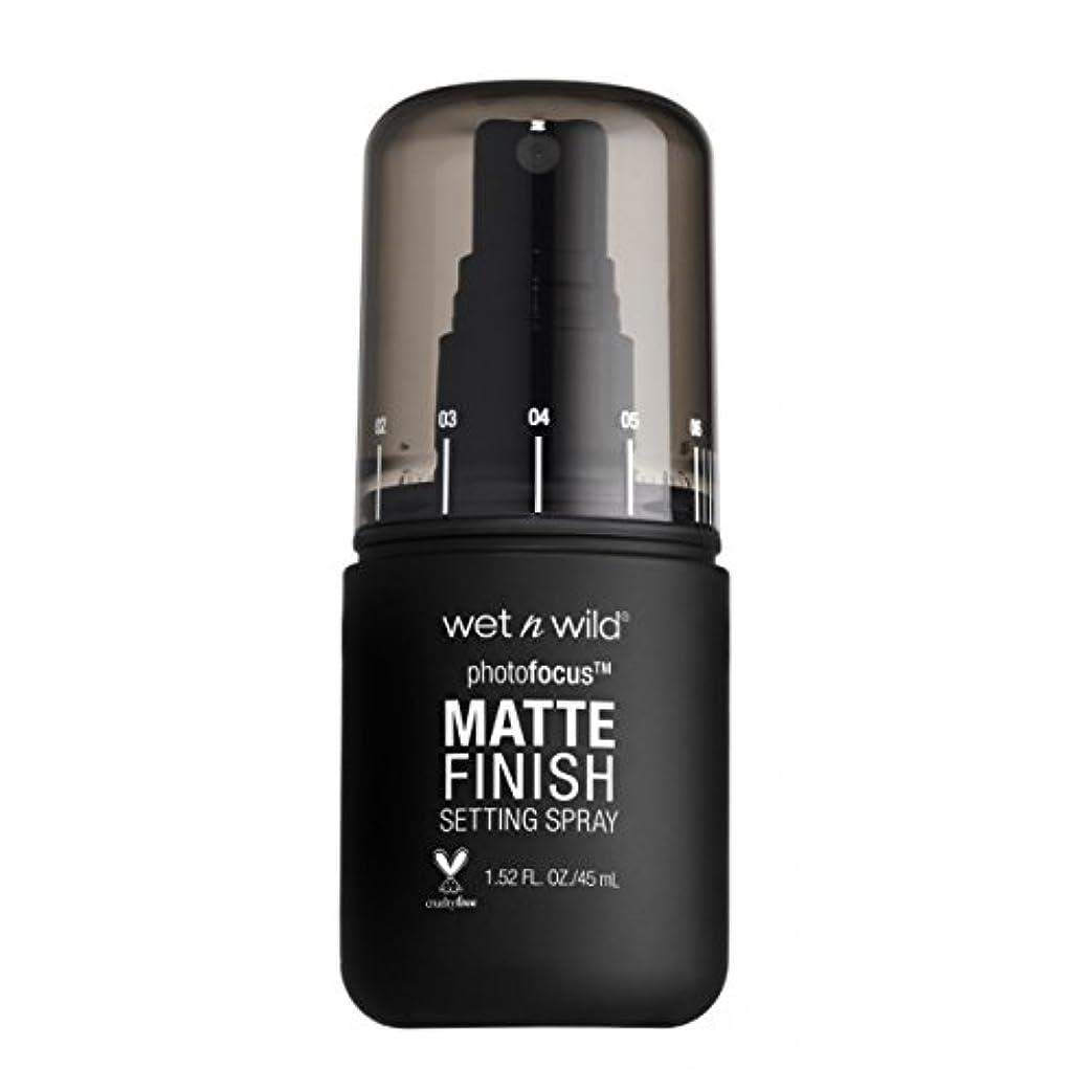 撤退毎年ショット(6 Pack) WET N WILD Photo Focus Matte Finish Setting Spray - Matte Appeal (並行輸入品)