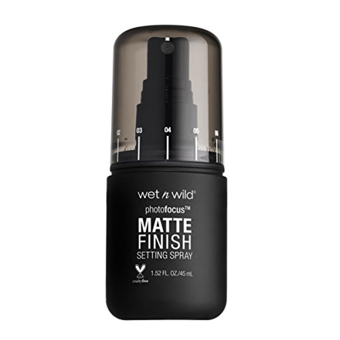 覚えている論理的面積(3 Pack) WET N WILD Photo Focus Matte Finish Setting Spray - Matte Appeal (並行輸入品)