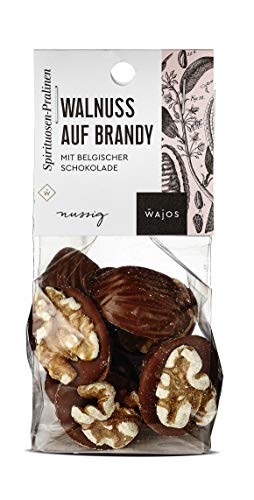 Likör - Pralinen Walnuss auf Brandy 100g I Wajos Pralinen Selection