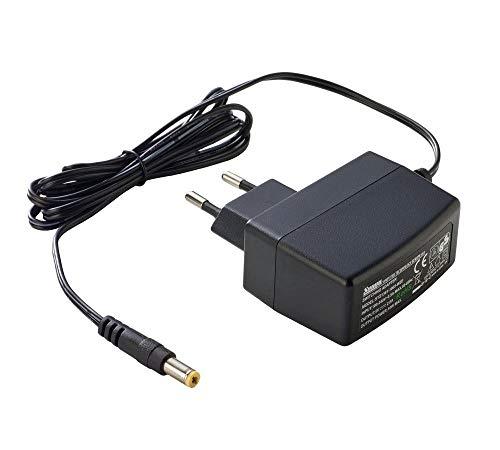 PremiumCord Universal Netzteil 230V/ 12V/ 1A DC, Netzadapter AC/DC, Stromadapter und Stromkabel für Router und weitere 12V-Geräte, Ausgangsstecker 5,5mm / 2,1mm