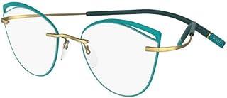 Silhouette TMA ICON ACCENT RINGS 5518/FU Green Ring 54/17/0 women Eyewear Frame