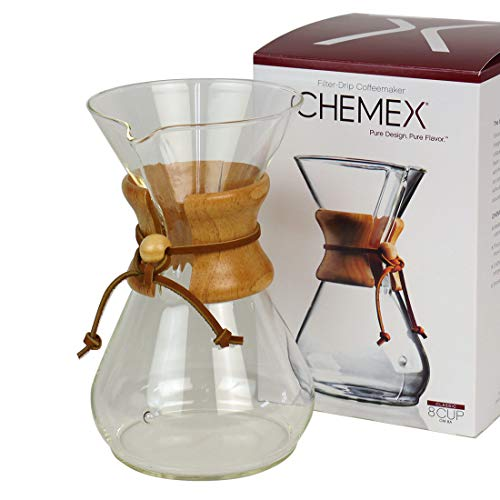 CHEMEX(ケメックス) コーヒーメーカー 8カップ クラシックシリーズ CM-8A [CLASSIC 8cup][並行輸入品]