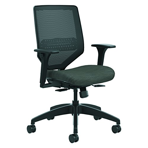 HON SVMM1ALCO10 Solve Series Mesh Back Task Chair, Ink