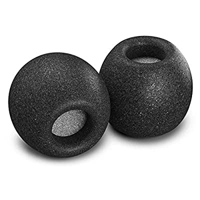 Comply Comfort Plus Premium Memory Foam Earphone Tips, Audio-Technica, Bose QuietComfort 20, Denon, JVC, RHA, SoundMAGIC and More, Secure Noise Reducing Replacement Earbud Tips, Tsx-400 (Medium, 3 Pair) by Comply