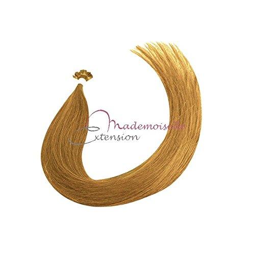Extension Cheveux kératine - Gamme Density - Bond clair doré cendré - 55/60 cm