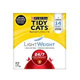 Purina Tidy Cats Light Weight, Low Dust, Clumping Cat Litter, Lightweight 24/7 Performance Multi Cat Litter - 17 lb. Box clay litters May, 2021